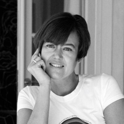 Pink Tartan Designer Kimberly Newport-Mimran